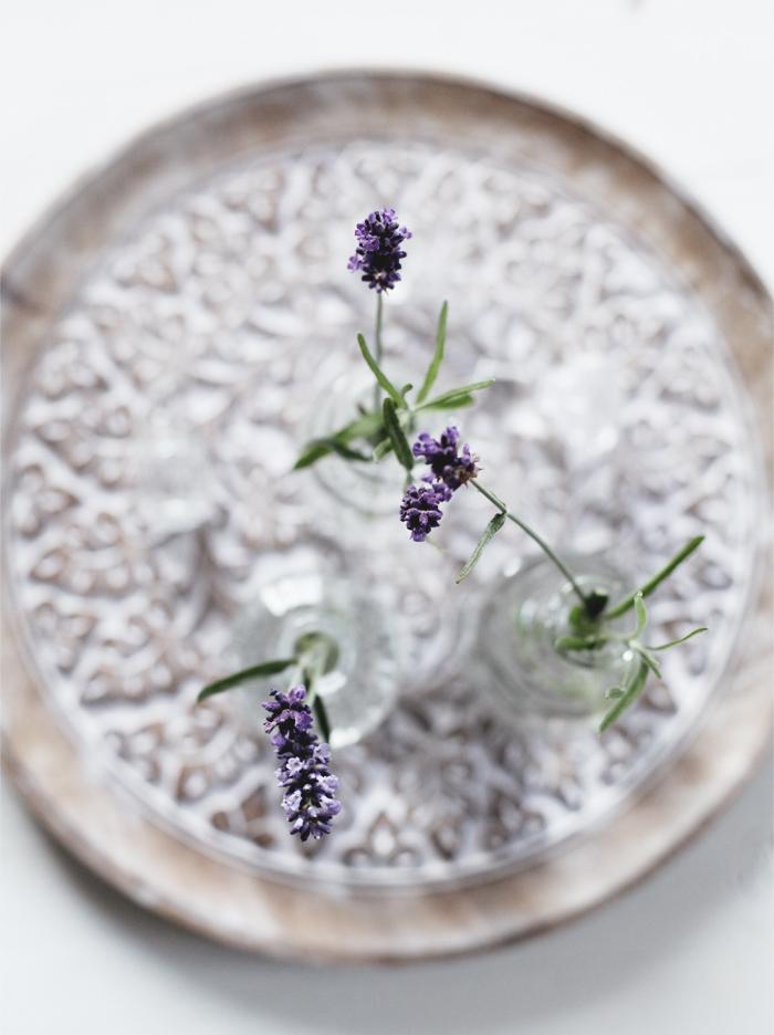 Lavendel i glas