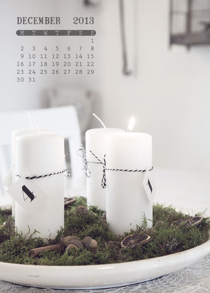 Första advent, 2013
