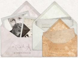 Envelope, digital scrapbooking