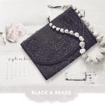 Black and beads